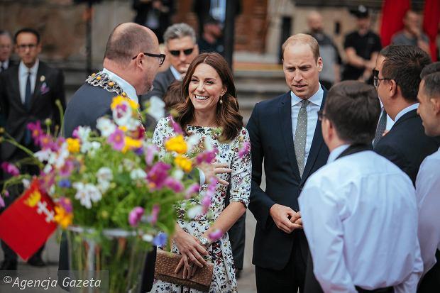 Wizyta pary książęcej w Gdańsku